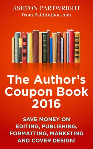 Author Coupon Book 2016