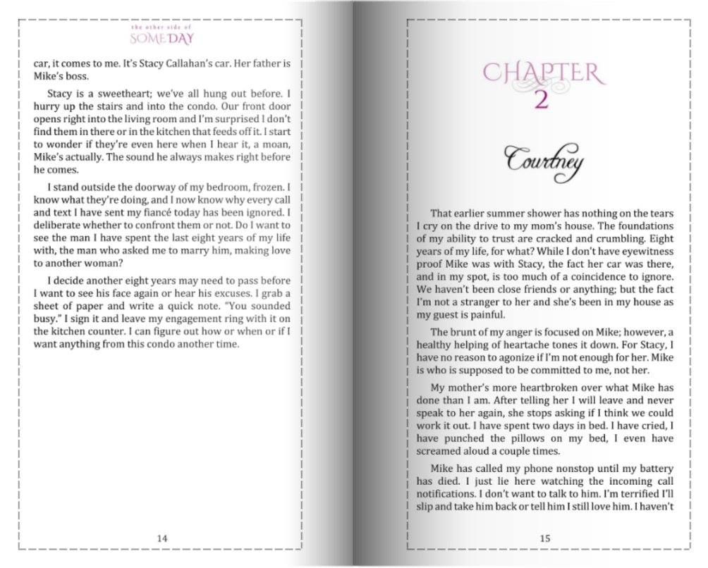 Integrity Formatting Paperback Example