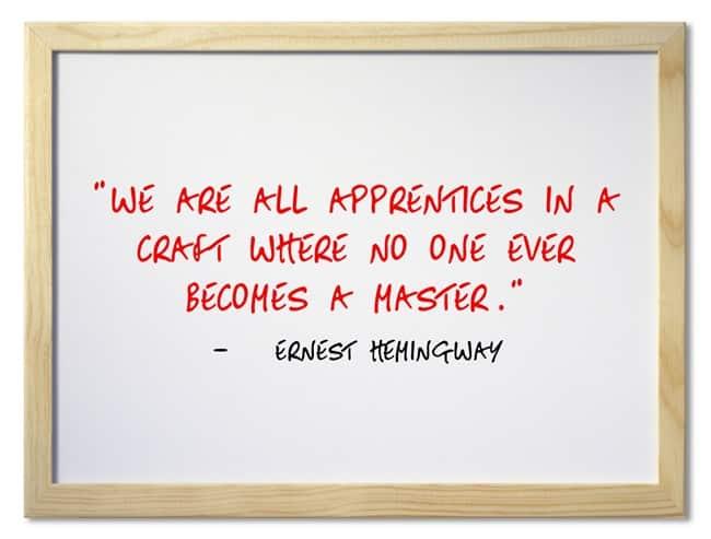 Author Quotes Ernest Hemingway