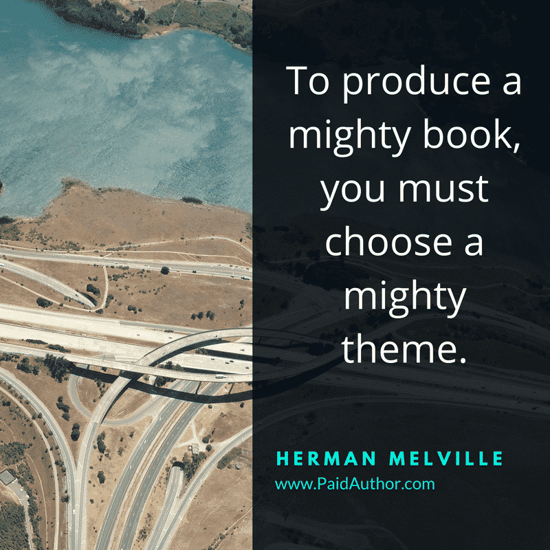 Author Quotes for Writers by Herman Melville