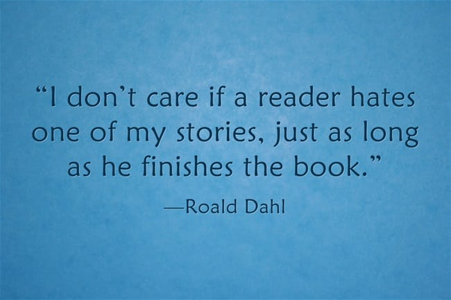 Author Quotes Roald Dahl