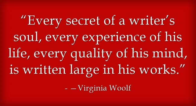 Author Quotes Virginia Woolf