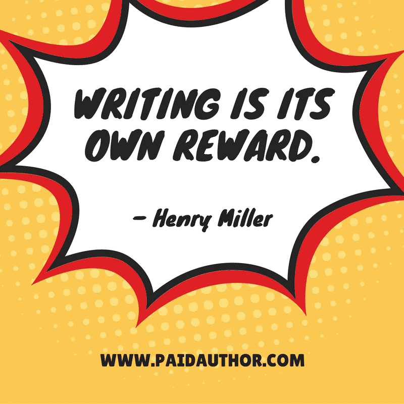 Famous Author Quotes for Writers by Henry Miller