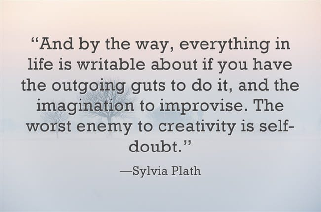 Author Quotes on Writing by Sylvia Plath