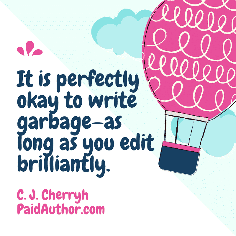 Author Quotes on Writing by C. J. Cherryh