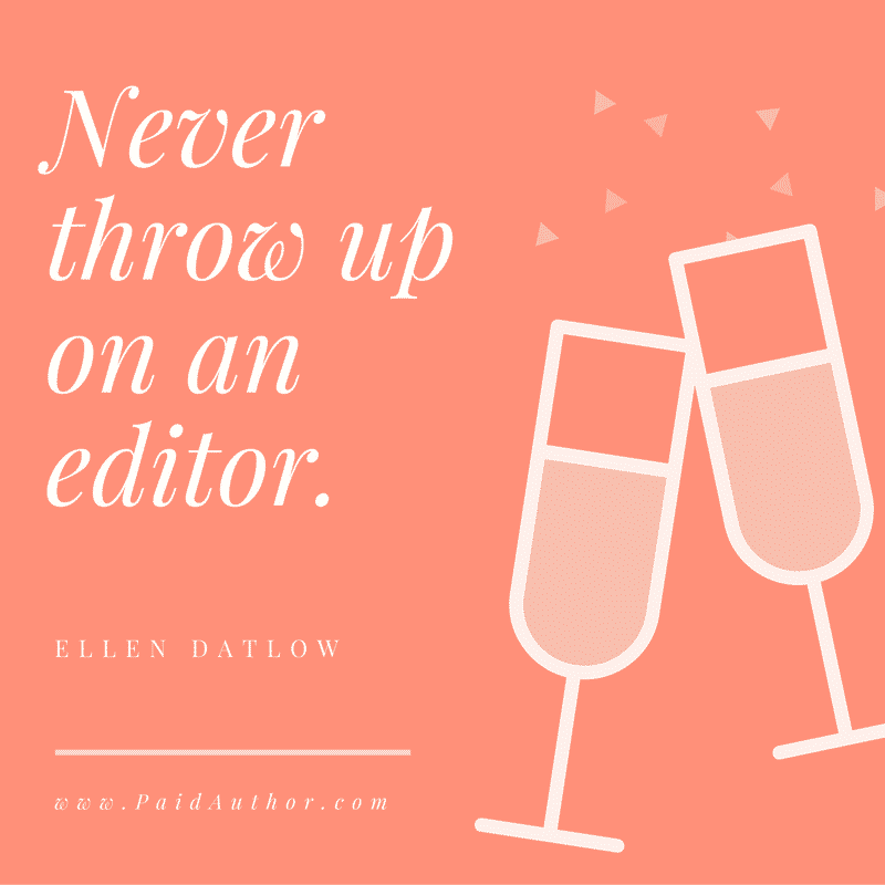 Ellen Datlow Editing Quotes