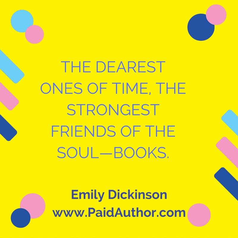 Best Emily Dickinson Author Quotes for Writers