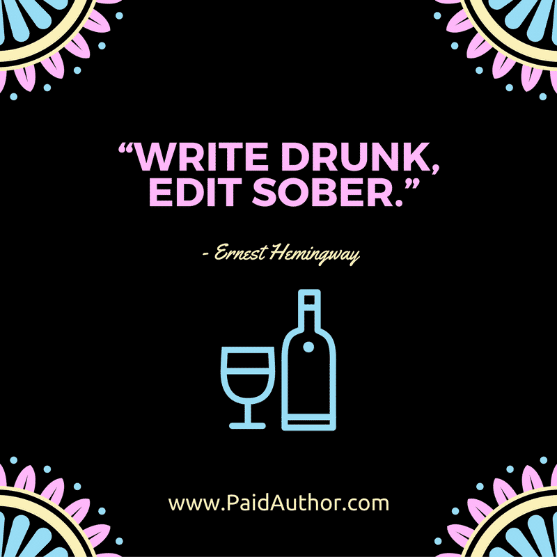 Author Quotes on Writing by Ernest Hemingway