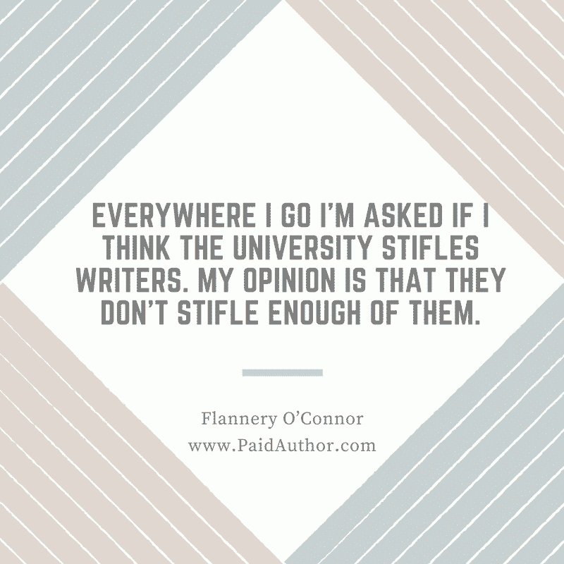 Flannery O'Connor Author Quotes