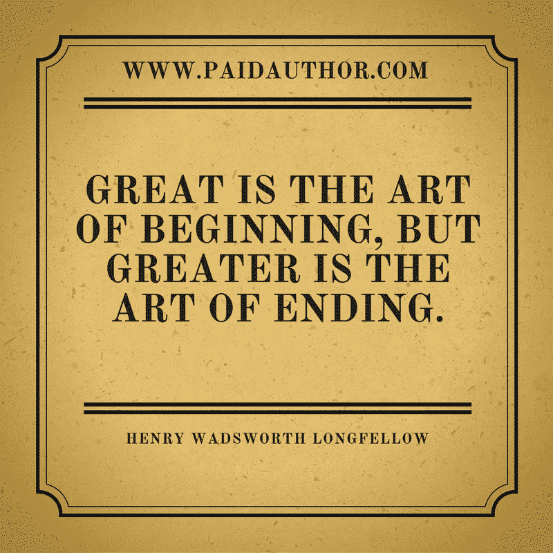 Famous Author Quotes for Writers by Henry Wadsworth Longfellow