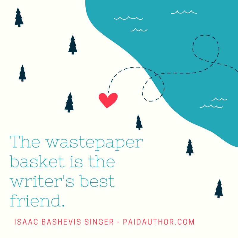Isaac Bashevis Singer Quotes about Writing