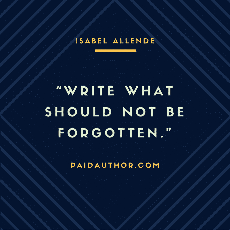Author Quotes by Isabel Allende