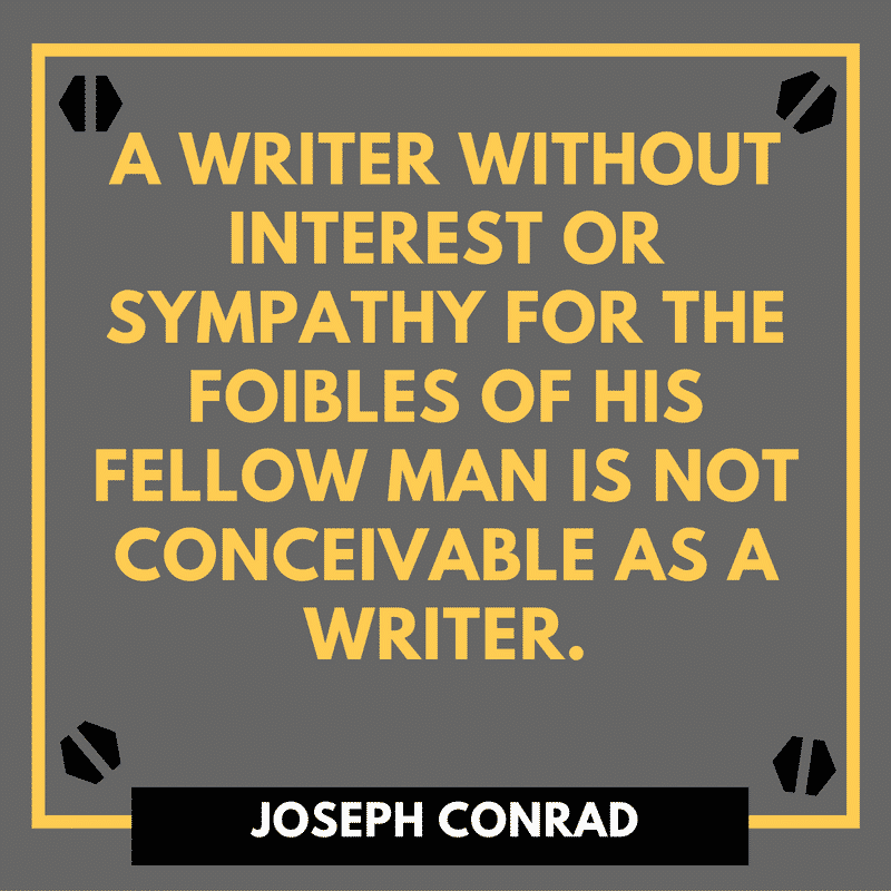 Joseph Conrad Author Quotes