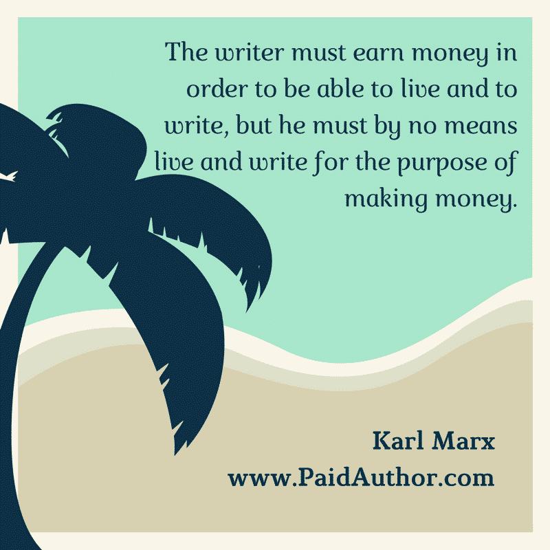 Karl Marx Author Quotes for Writers