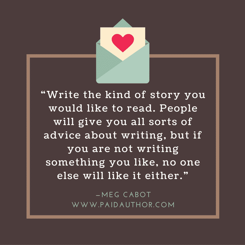 Meg Cabot Author Quotes on Writing