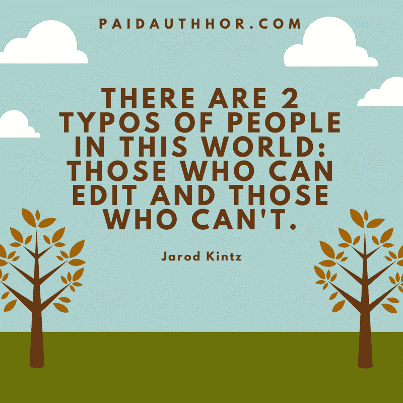 Quotes on Editing