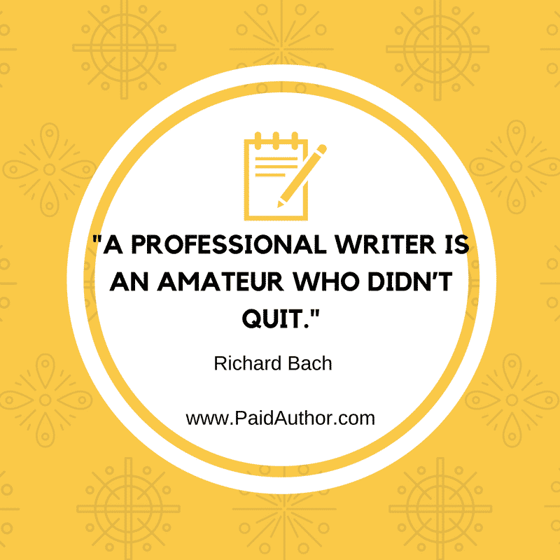 Author Quotes for Writers by Richard Bach