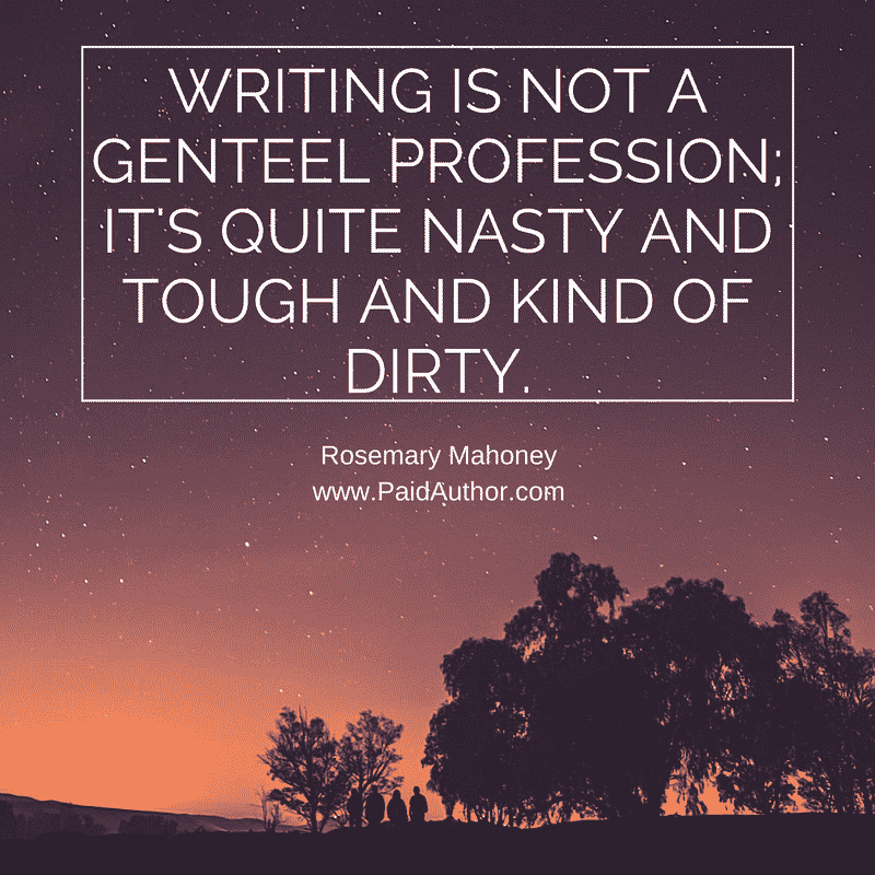 Rosemary Mahoney Quotes about Writing