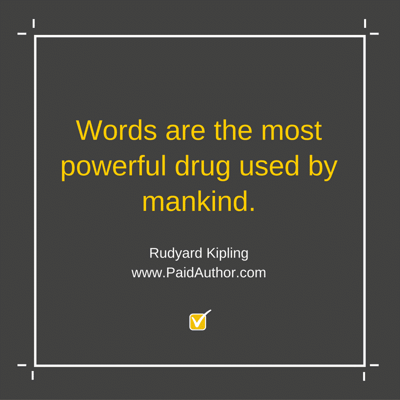 Rudyard Kipling Quotes about Writing