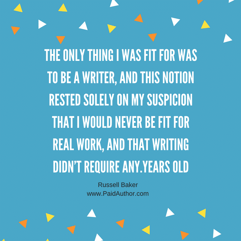 Russell Baker Author Quotes