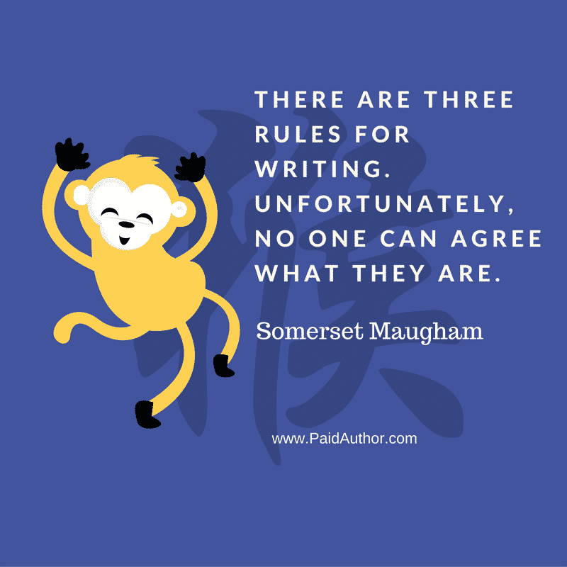 Somerset Maugham Quotes about Writing