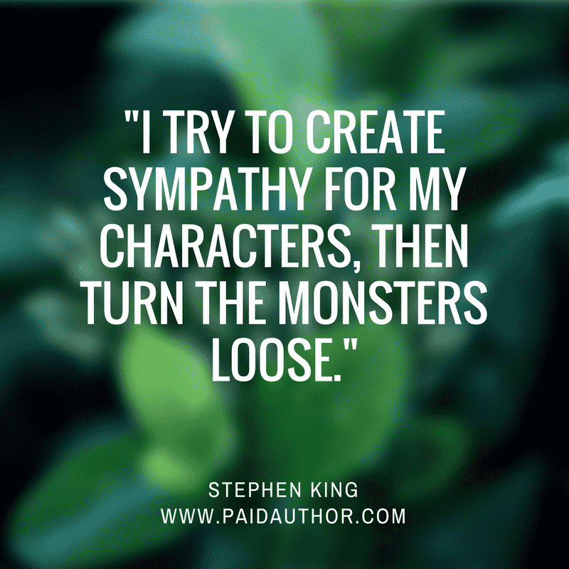 Author Quotes on Writing by Stephen King