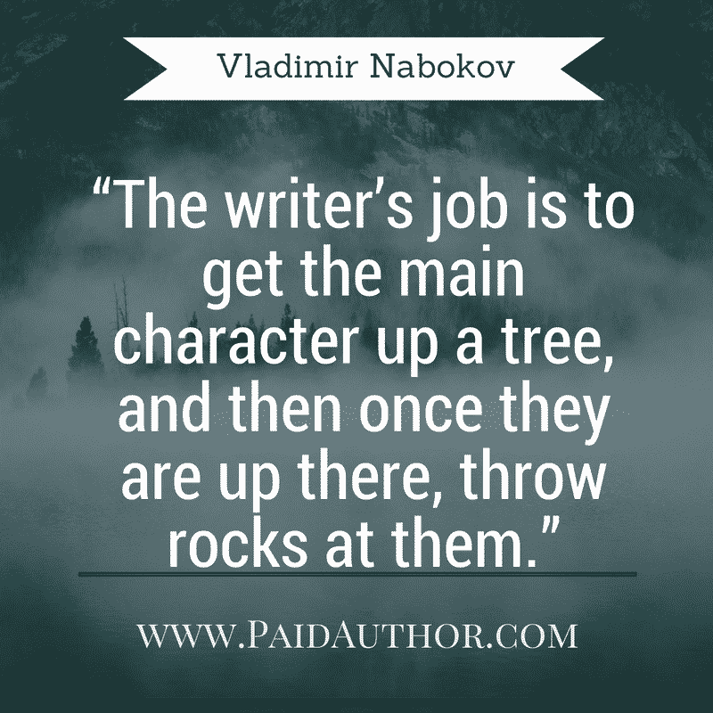 Vladimir Nabokov Greatest Author Quotes on Writing