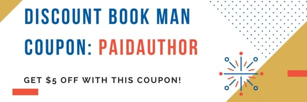 Discount Book Man Coupon 'PAIDAUTHOR' and Results