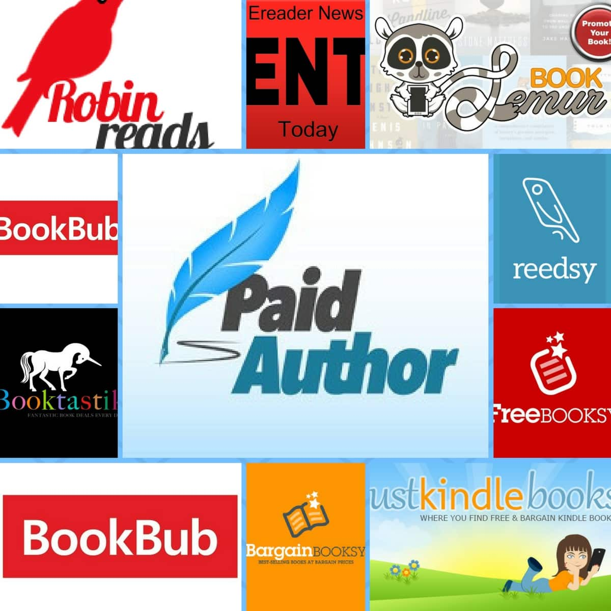 Best book promotion sites 2018 paid author fandeluxe Images